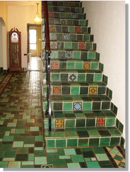 Tiles By Mueller Mosaic Company Ton New Jersey Circa Mid 1920s